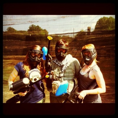 Paintball Photo of emilybinder bunnymcintosh everett_steele Instagram