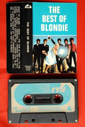 Best of Blondie album cassette tape and case