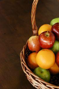 wicker fruit basket full of apples emilybinder.com