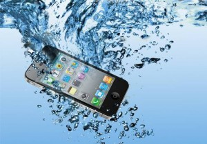iPhone dropped in water