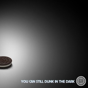 Oreo Super Bowl 2013 Dunk in the Dark tweet photo