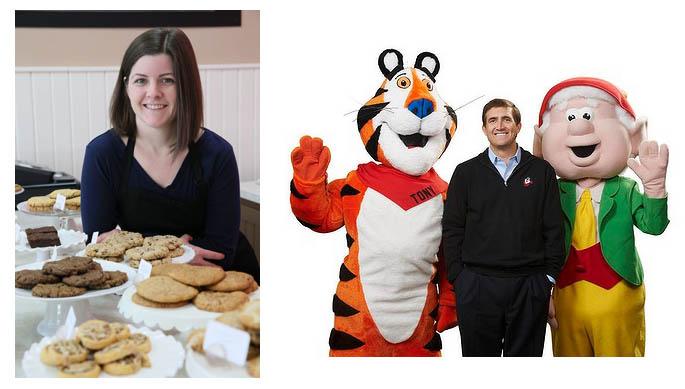 Karen Herrera of Sugar & Flour Bakery vs. John Bryant, CEO, Kellogg