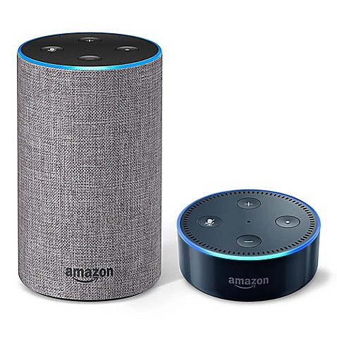 Amazon Echo 2nd Generation and Echo Dot